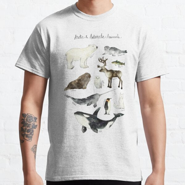 Arctic & Antarctic Animals Classic T-Shirt