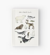 Arctic & Antarctic Animals Hardcover Journal