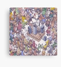Dance Gavin Dance - Acceptance Speech - Tablet Case & Skins Canvas Print
