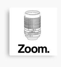 Zoom lens Canvas Print