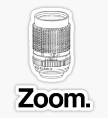 Zoom lens Sticker