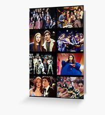 That '70s Show Character Photos Greeting Card
