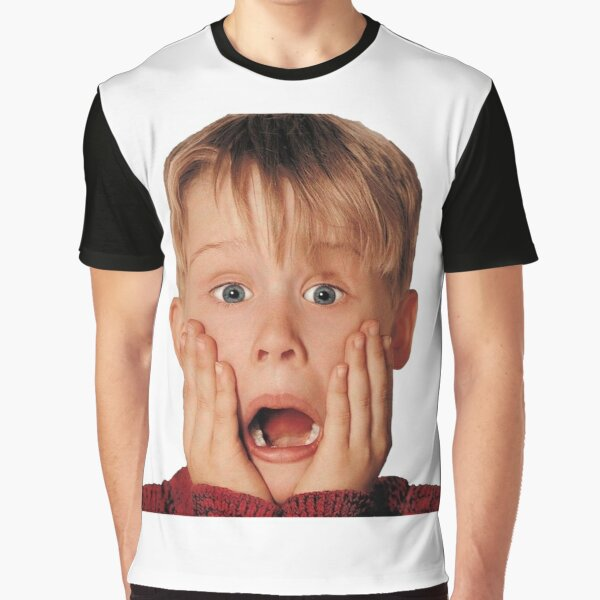 Macauly Culkin From Home Alone Graphic T-Shirt