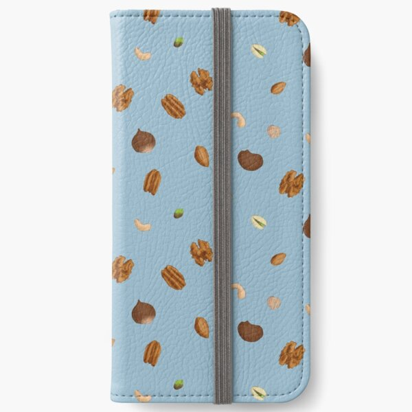 Go Nuts! Blue iPhone Wallet