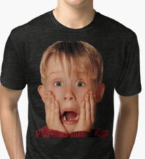 Macauly Culkin From Home Alone Tri-blend T-Shirt