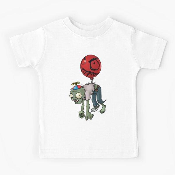 Baloon zombie Plantas VS Zombies Kids T-Shirt