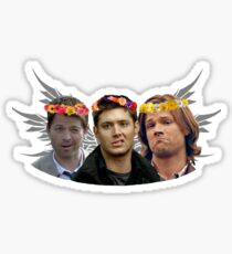 Sam, Dean and Castiel - The Baes Sticker