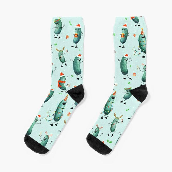 Holiday Pickle Party! Socks