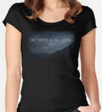 The Truth  Women's Fitted Scoop T-Shirt