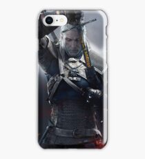 The Witcher 3 WILD HUNT - Geralt of rivia iPhone Case/Skin