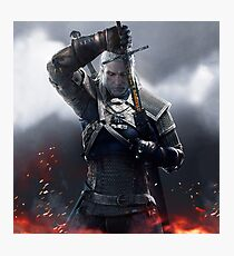 The Witcher 3 WILD HUNT - Geralt of rivia Photographic Print
