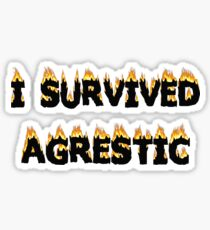 I survived Agrestic Sticker