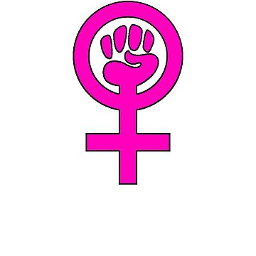 Women's Power / Feminist Symbol 2 by 321Outright