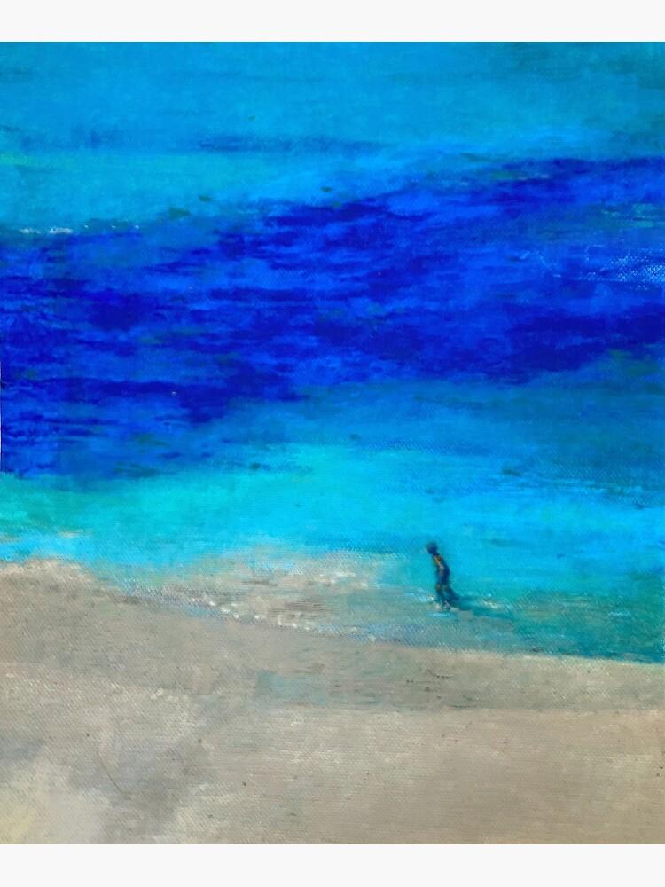 Lone runner II by MuloaniArt