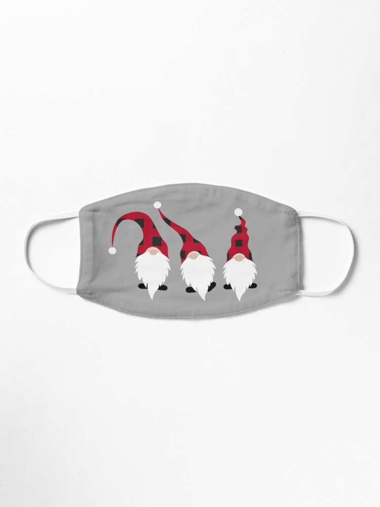 Alternate view of Christmas Gnomes Mask