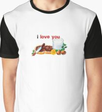 Nutella I Love You Graphic T-Shirt