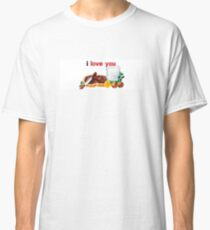 Nutella I Love You Classic T-Shirt