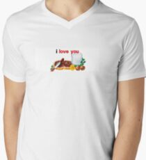 Nutella I Love You Men's V-Neck T-Shirt