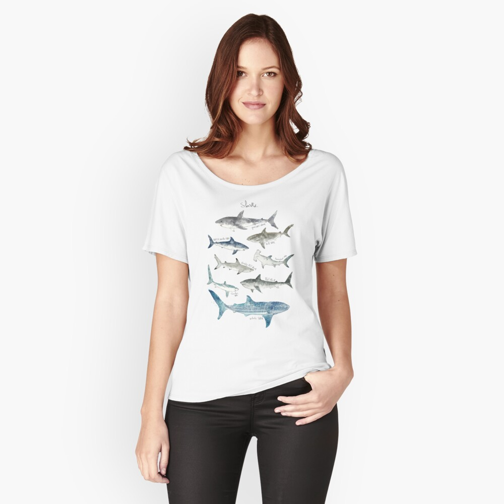 Sharks Relaxed Fit T-Shirt