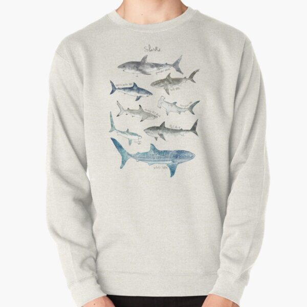 Sharks Pullover Sweatshirt