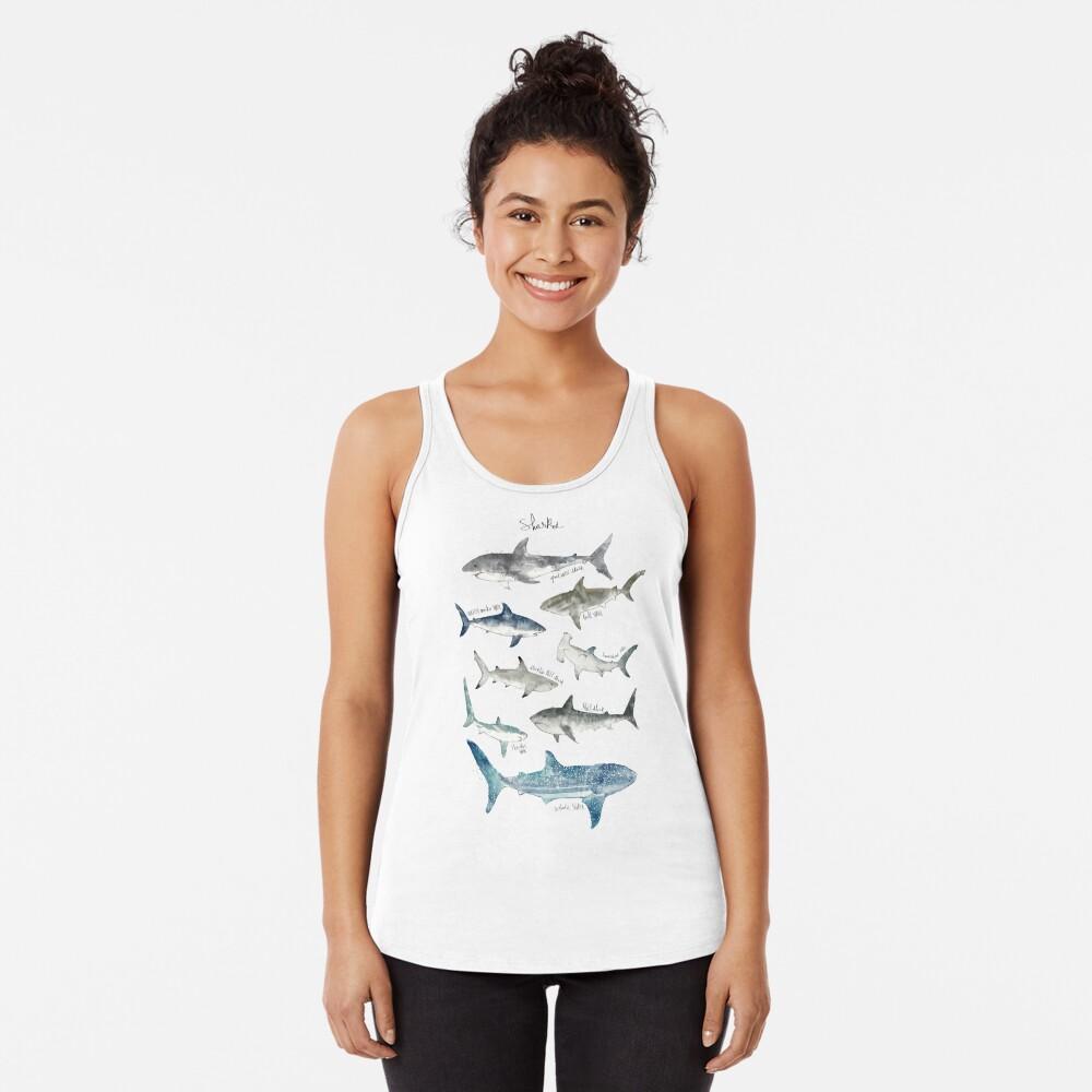 Sharks Racerback Tank Top