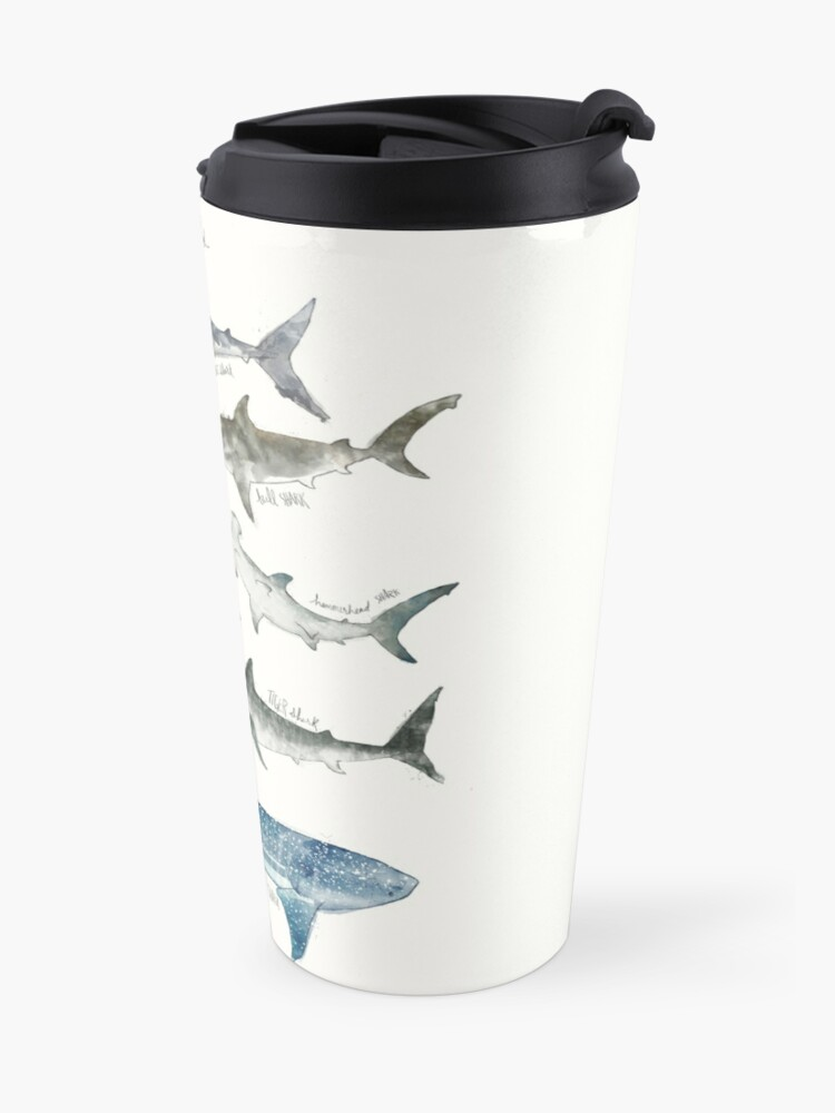 Alternate view of Sharks Travel Mug