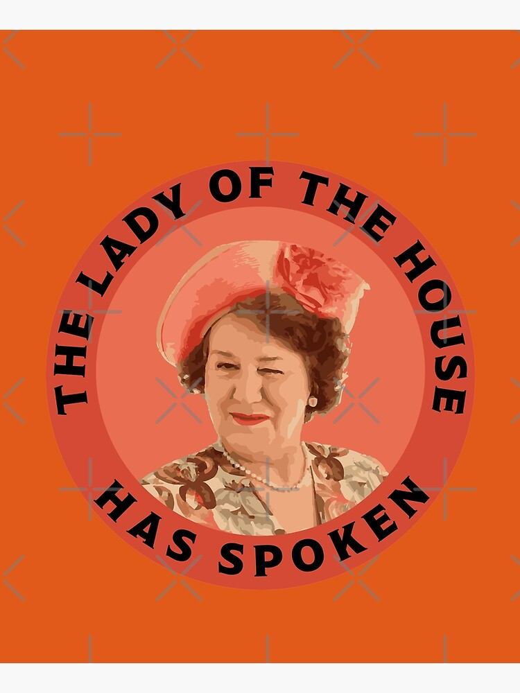 Keeping Up Appearances - Hyacinth Bucket - Hyacinth Bouquet - Snob Gifts - Funny British Snob by happygiftideas