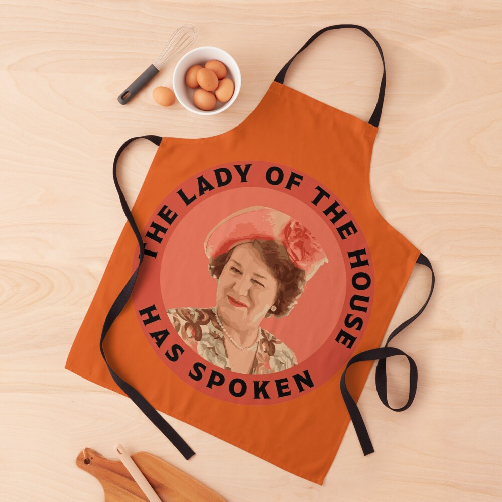 Keeping Up Appearances - Hyacinth Bucket - Hyacinth Bouquet - Snob Gifts - Funny British Snob Apron