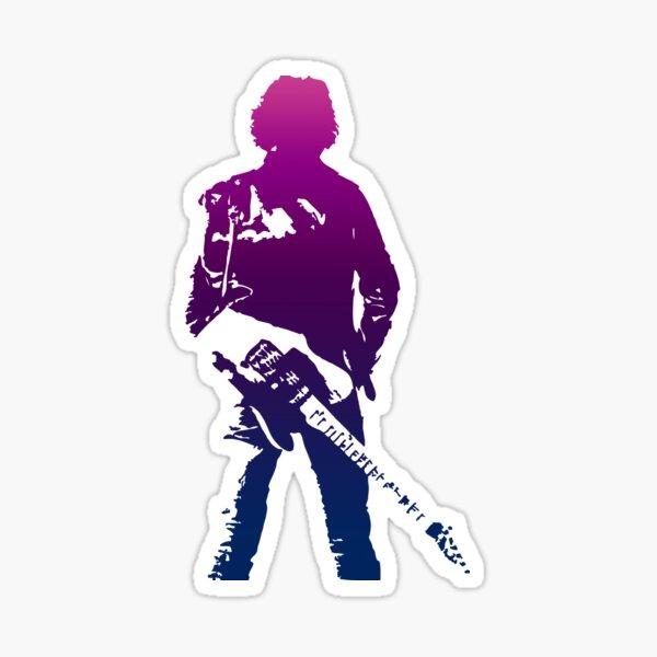 Guitar Springsteen Sticker