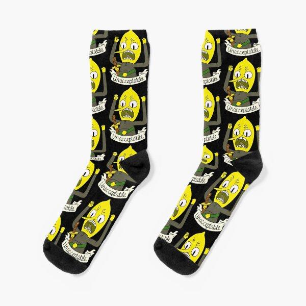 Lemongrab Socks