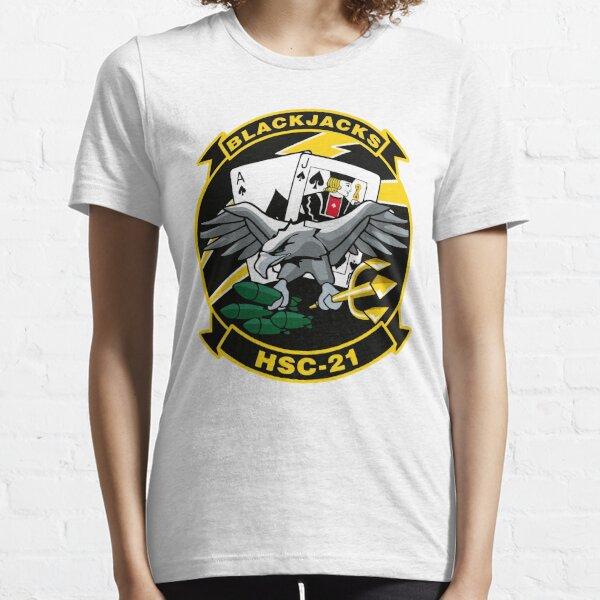 Model 43 - Black Jacks - HSC-21 Essential T-Shirt