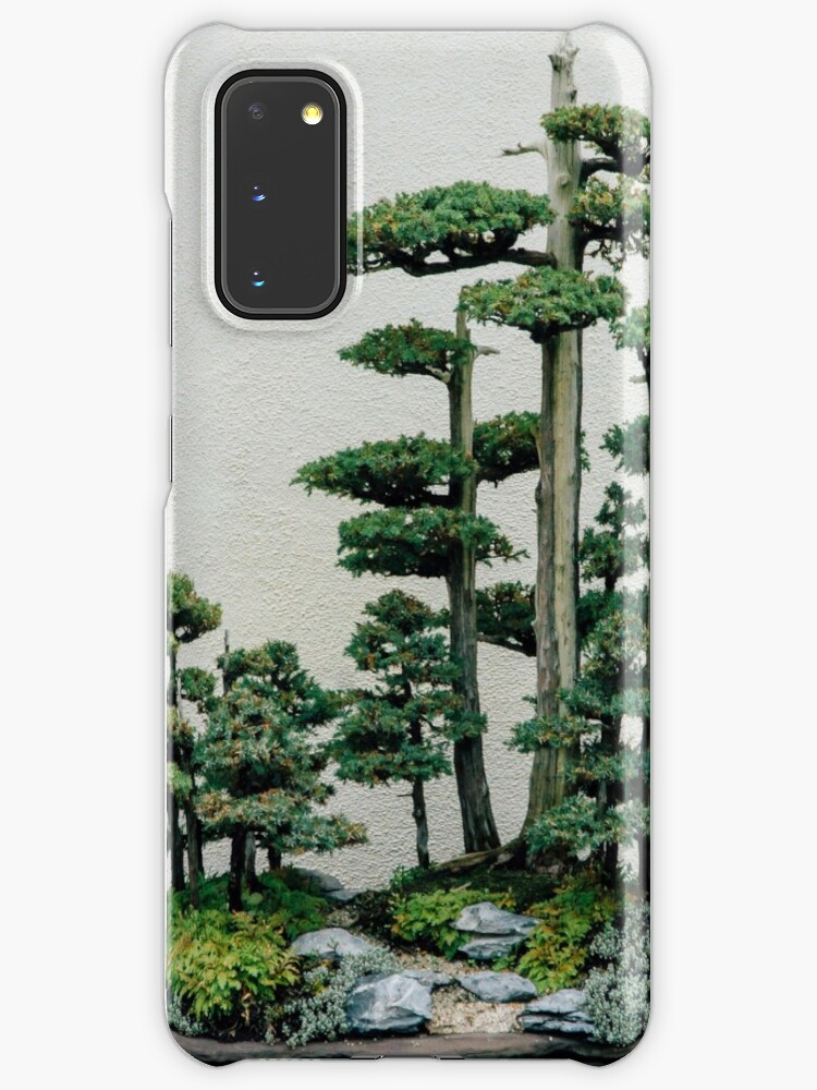 Chinese Juniper Bonsai Forest Case Skin For Samsung Galaxy By Corydean Redbubble