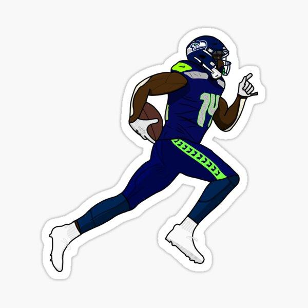 DK Metcalf Drawing Sticker