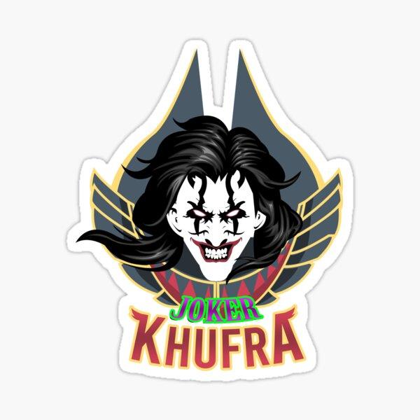 JOKER X KHUFRA Sticker