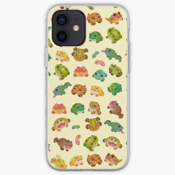 Horned frog - bright iPhone Soft Case