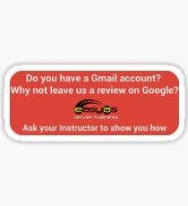 Google Review Sticker