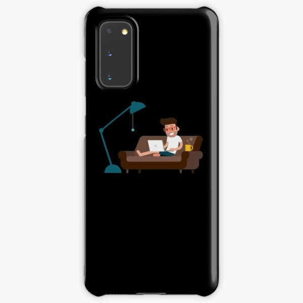 Work From Home Bro Samsung Galaxy Snap Case