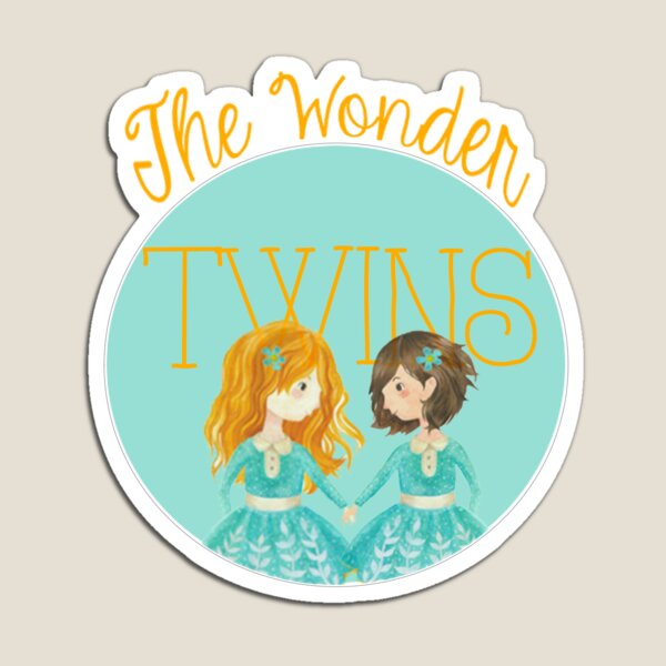 The Wonder Twins Magnet
