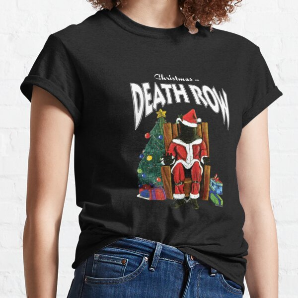 Lover Gift Death Row Records Christmas on Row Classic T-Shirt