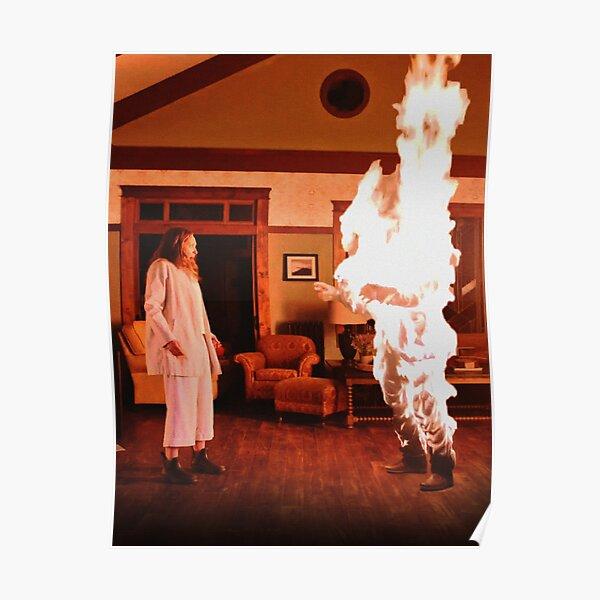 Hereditary dad burning Poster