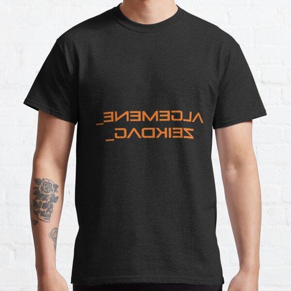 Mirrored Text, Algemene Zeikdag. Classic T-Shirt