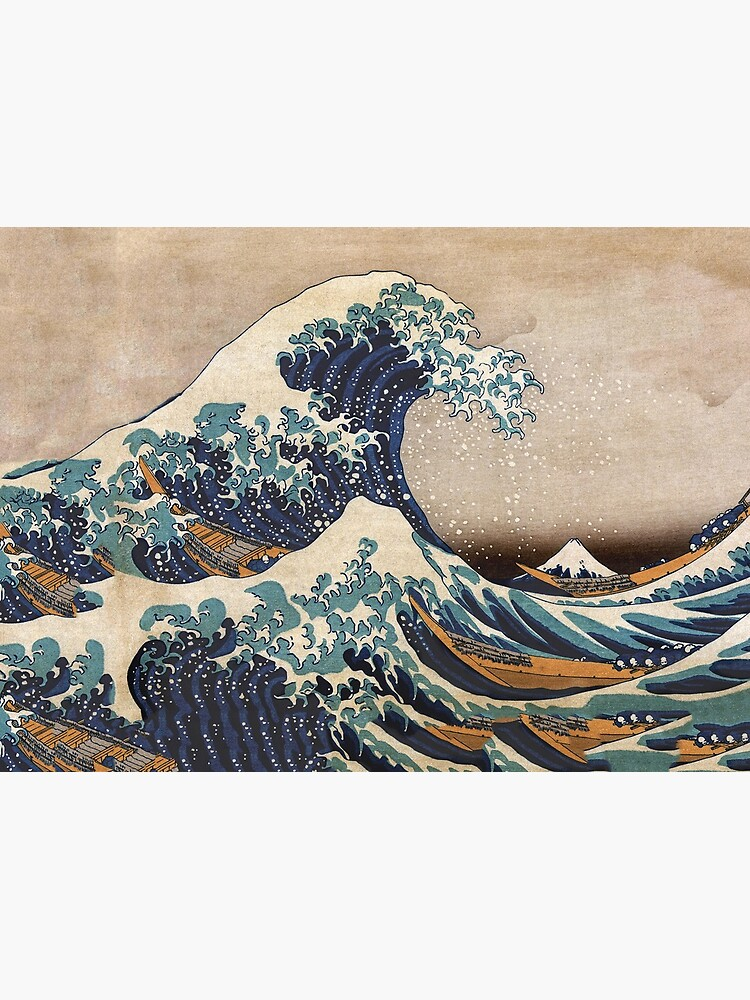The Great Wave off Kanagawa by VintageArchive