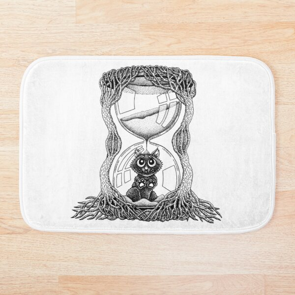 Trapped In Time Bath Mat