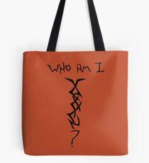 Who Am I - Mystery Woman Tatoo Tote Bag