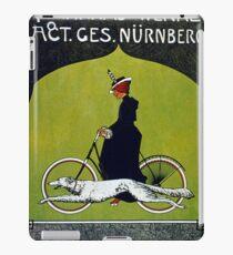 Vintage poster - Victoria Bicycles iPad Case/Skin