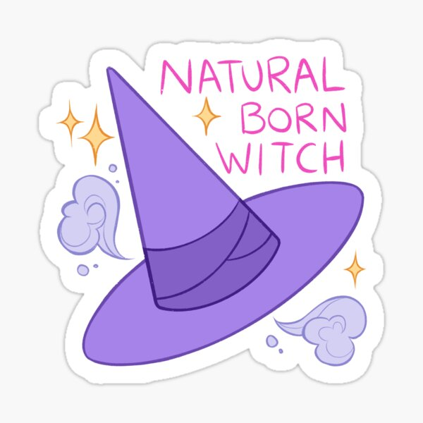 Natural-Born Witch Sticker