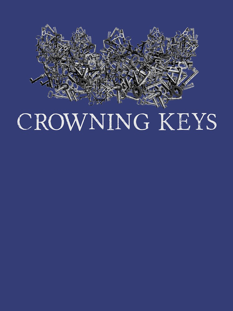 Crowning Keys Logo (White) by catherinedownen
