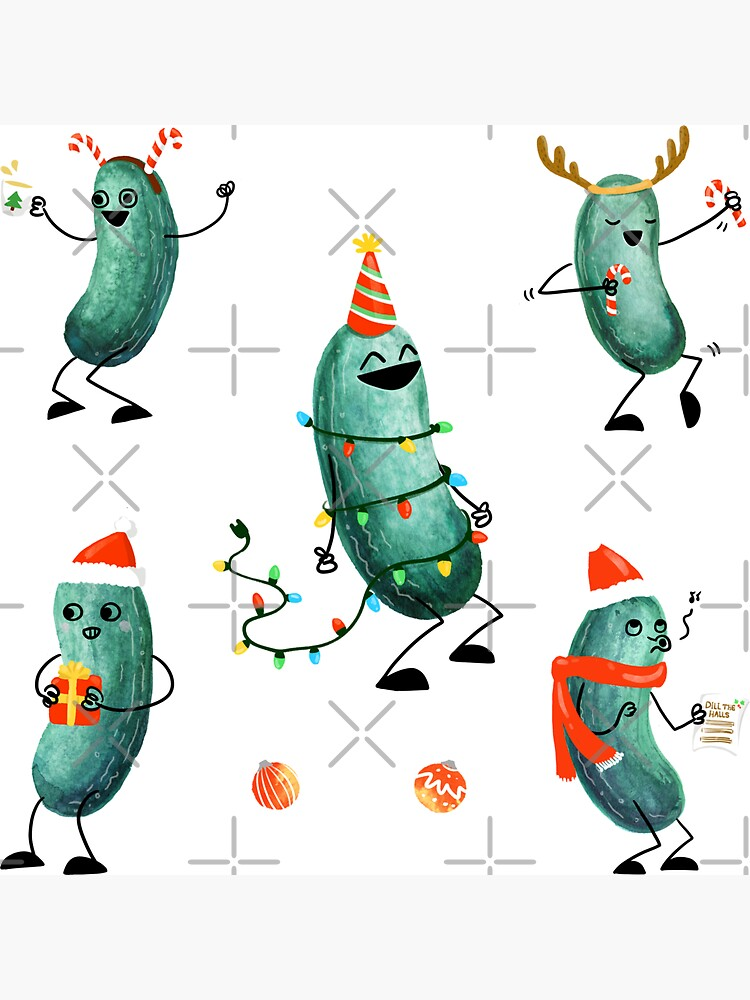 Holiday Pickle Party! by littleclyde