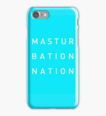Mastur Bation Nation iPhone Case/Skin