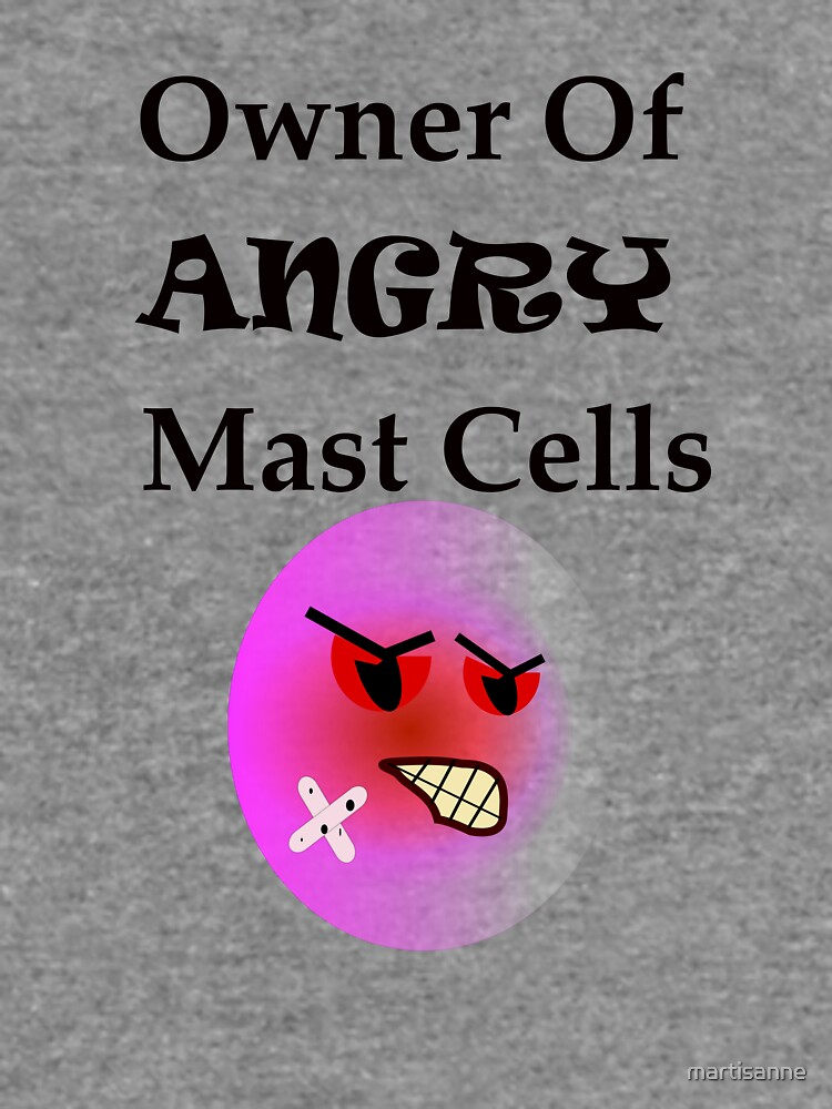 Owner of Angry Mast Cells by martisanne